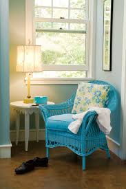 Blue Chairs For Living Room by Wicker Chair By Maine Cottage Comfy Wicker Chair
