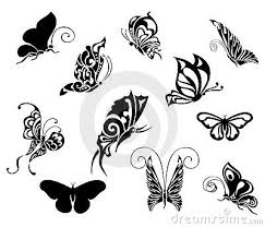 butterfly tribal tattoo designs growing phenomena star tattoo