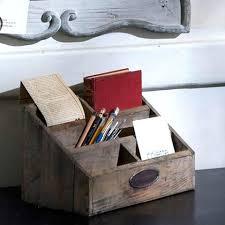 Office Desk Organizer by Best 25 Wooden Desk Organizer Ideas On Pinterest Desktop