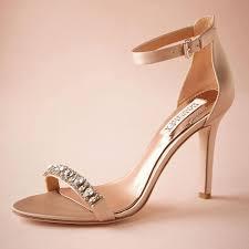 Wedding Shoes In Sri Lanka Fashion Blush Wedding Shoes 3 5 Satin Wrapped Heel Crystals