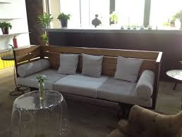 american country style retro industrial wood sofa living room