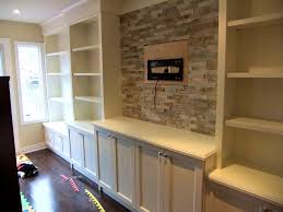 bathroom appealing wall cabinets walls and built units fireplace