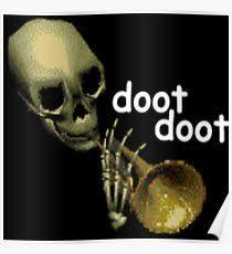 Doot Doot Meme - doot digital art posters redbubble
