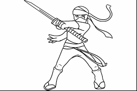 brilliant ninja coloring book pages with ninja coloring page