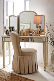 bathroom elegant vanity chair and stools design in wooden legs winsome natural reese skirted vanity chair with brown slipcover white hardwood set with mirrored make up