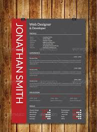 modern resume sles images awesome resume cv templates 56pixels com