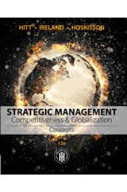 manual and case solutions for strategic management competitiveness