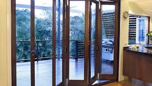 Exterior Folding Door Hardware Folding Patio Doors Exterior Riviera Doorwalls Popular Within 13