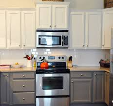 kitchen design astounding painted gray kitchen cabinets white