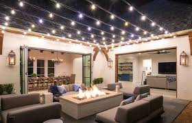 patio string lights outdoor patio string lights led tips on the installation of