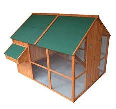 amazon com pawhut deluxe extra large backyard chicken coop hen