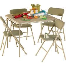 Cosco Folding Table And Chairs Great Cosco Folding Table And Chairs Plastic And Steel Folding