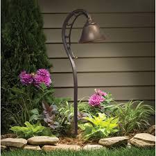 Kichler Landscape Lighting by Kichler Zen Garden Lantern Path Light Hayneedle