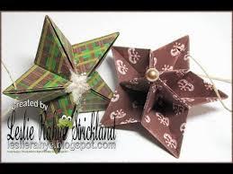 bonus tutorial origami star ornaments youtube