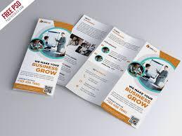 trifold brochure template free psd u2013 uxfree com