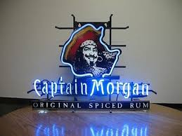 captain morgan neon bar light new captain morgan rum bar neon light sign 17 x14 110 00 picclick