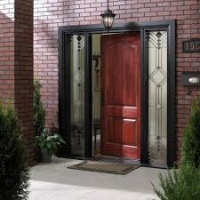 decorations red front door paint color in red brick wall ideas