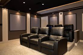 White Gold Living Room Theater Projects
