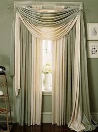 Making A Valance Window Treatment How To Drape A Scarf Valance Scarves Layering And Window