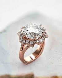 Unique Wedding Rings by 21 Unique Engagement Rings You U0027ll Love Martha Stewart Weddings