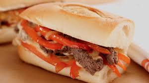thanksgiving sub sandwich steak sandwich with peppers