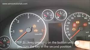 service light reset audi a6 1999 2004 in 4 simple steps youtube