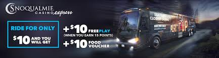 snoqualmie casino express luxury motorcoach transportation