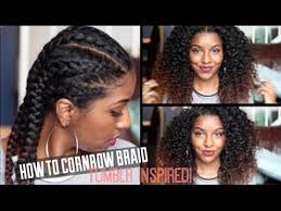 hair braiding got hispanucs how to cornrow braid natural hair defined curls youtube