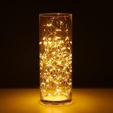 amazon com kohree 100 micro leds string light battery powered on