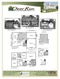 floor plan loan deer run bordeau builders