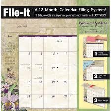 botanical calendars botanical gardens file it wall calendar 2018 avalanche