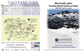 Mammoth Luxury Home Rentals by Mammoth Reservation Bureau Vacation Rentals And Lodging