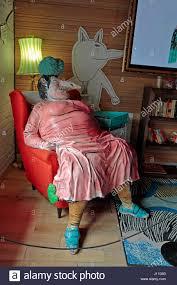 miss bogie exhibit in the roald dahl reading corner of the welsh