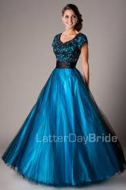 modest prom dresses blake usd 450 00 blue ball gowns