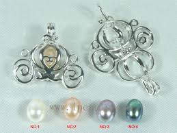 pearl wish necklace images Wholesale 5pcs autobike shape 18k gp wish pearl pendant sets lp jpg