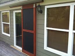 Screen Door Patio Doors Glamorous Sliding Glass Screen Door Astonishing Sliding