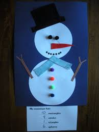 a fun snowman project that reinforces math skills u2013 karyn u0027s blog