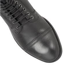 buy men u0027s frank wright marris black leather ankle boot online