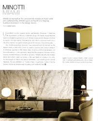 minotti quickship u2013 florida design u0027s miami home u0026 decor