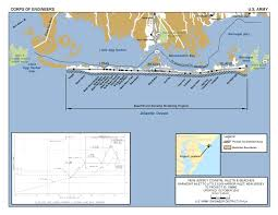 Map Of Long Beach New Jersey Shore Protection Barnegat Inlet To Little Egg Inlet