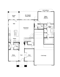hampton floor plan at falls plateau in leander tx