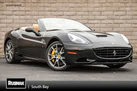 Ferrari California Dark Blue - rusnak south bay alfa romeo vehicles for sale in torrance ca 90505