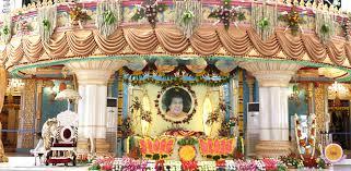Ugadi Decorations At Home Ugadi Celebrations From Prasanthi Nilayam Sri Sathya Sai Baba