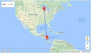 san jose ecuador map summer chicago to san jose costa rica for only 274