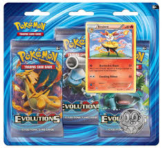 amazon black friday deals for pokemon packs amazon com pokemon tcg xy evolutions three booster blister card