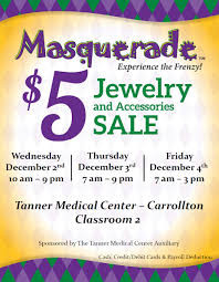 Apogee Physicians The Best In Masquerade 5 Jewelry And Accessory Sale On Dec 2 4 News Article