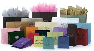 assorted matte laminated shopping bags sted we add color