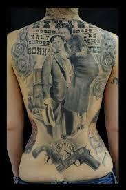 15 bonnie and clyde tattoos for badass couples for my wife