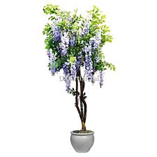 5ft potted artificial purple silk wisteria tree dongyi