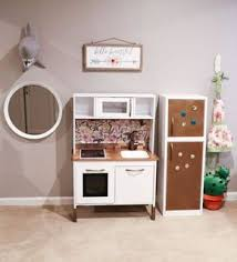 ikea hack duktig children u0027s play kitchen finished dom